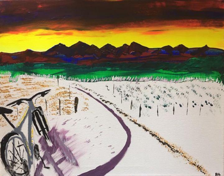 Mountain bike Colorado - Artworks by BIL