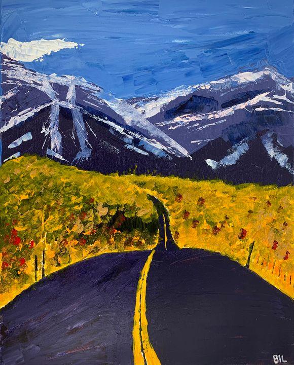 Road to Colorado - Artworks by BIL