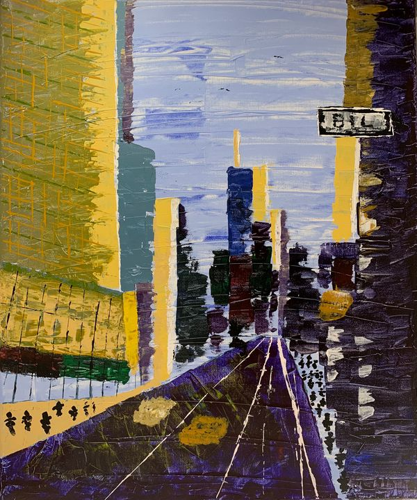 Times Square - Artworks by BIL