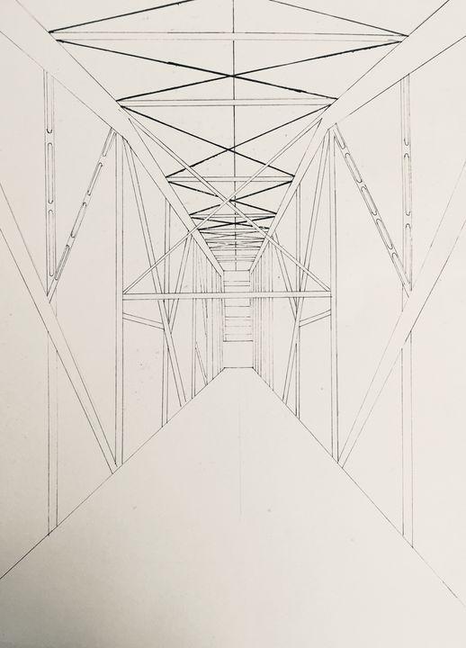 Bridge north - Artworks by BIL
