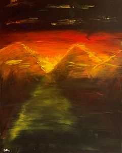 Mountains on Fire