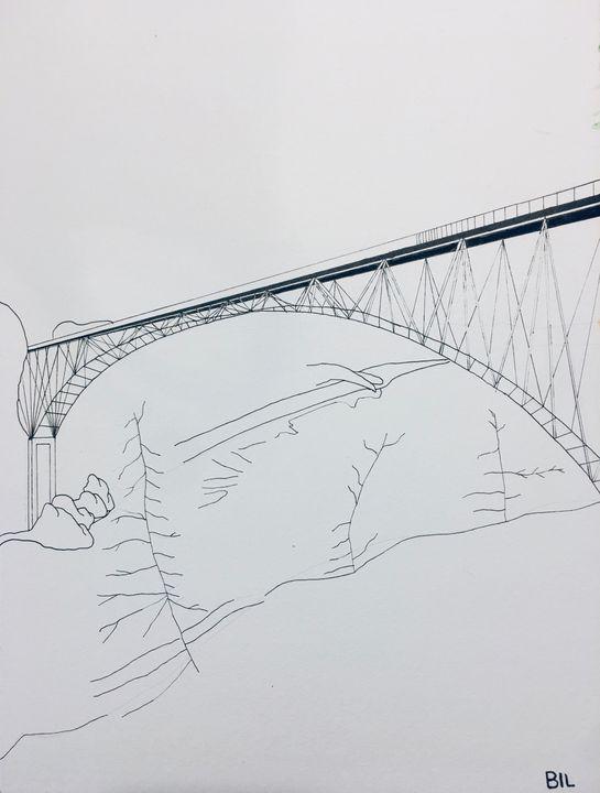 Bridge over good waters - Artworks by BIL