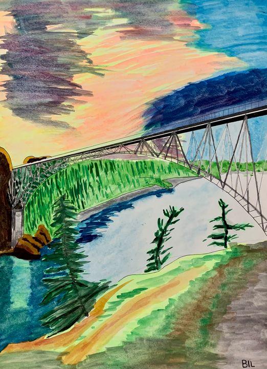 Deceptive Bridge - Artworks by BIL