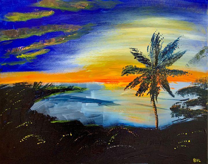 Hawaiian Dreams - Artworks by BIL
