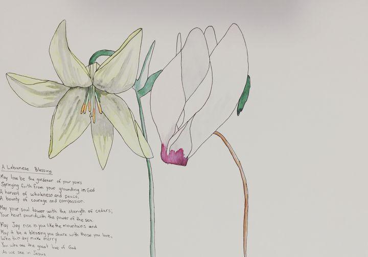 Birthday Flowers - Artworks by BIL