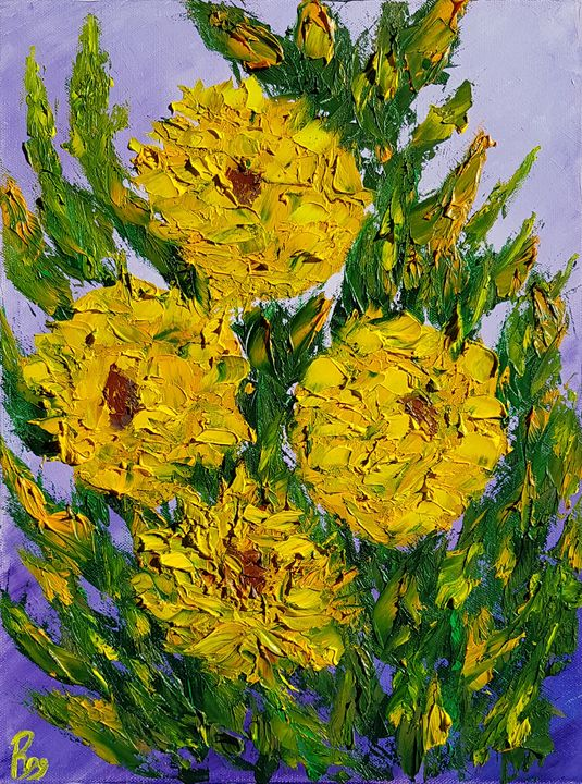 Yellow Peonies - Ruggero Ruggieri