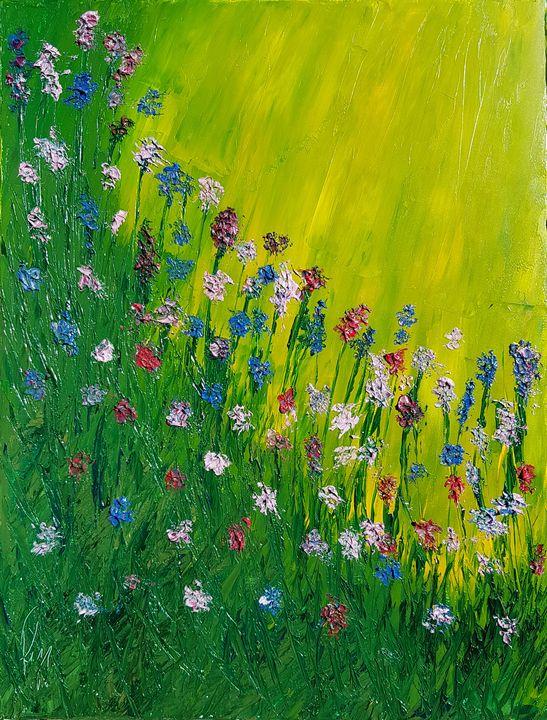 Field of flowers - Ruggero Ruggieri