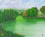 Original unique oil painting