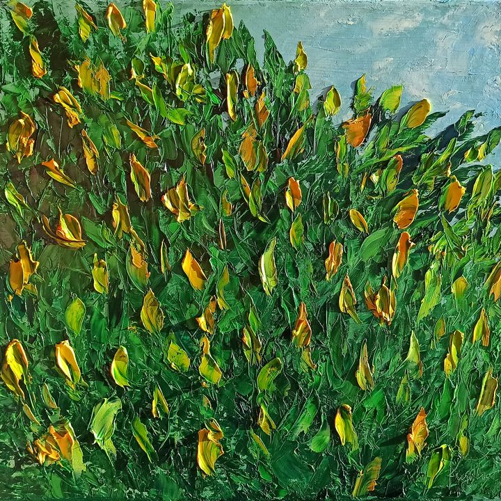 Wild spontaneous flowers - Ruggero Ruggieri