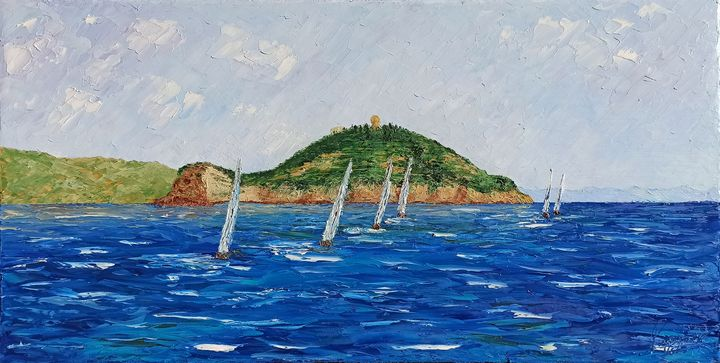 Regatta on the high seas - Ruggero Ruggieri