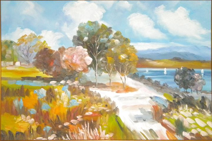 Lake and hills - albo gallery