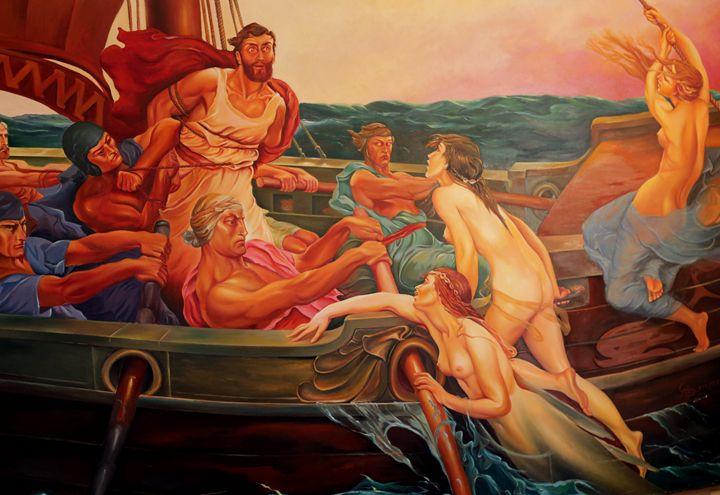 Odyssey returns By Mimoza Xhaferri - albo gallery