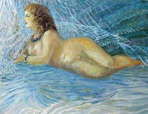 Nude by Skender Kamberi