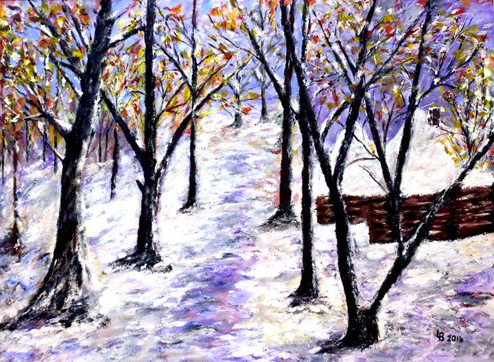 Winter Day By Lubjana Davidi Baci - albo gallery