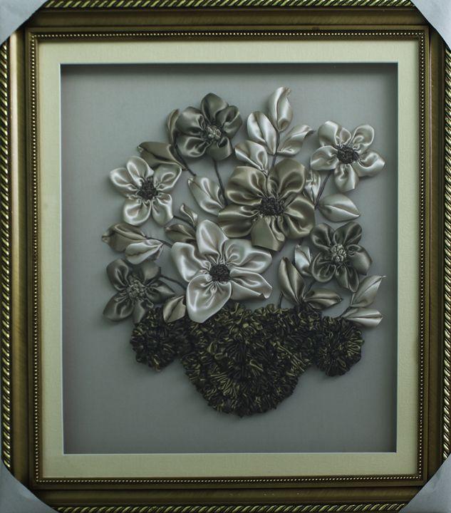 Dried Flower Basket by E. Jaupaj - albo gallery