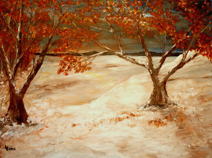 Autumn on snow - albo gallery