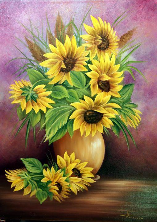 sunflowers by Adrian Muka - albo gallery