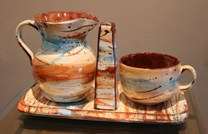 vases, trays and cup milk by Agikons - albo gallery
