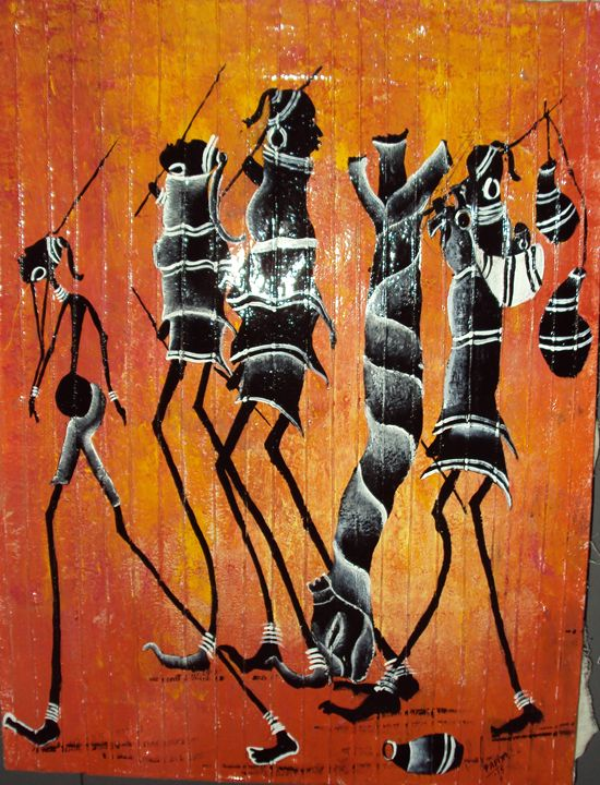 Tribal Life style - Artist.Papiya