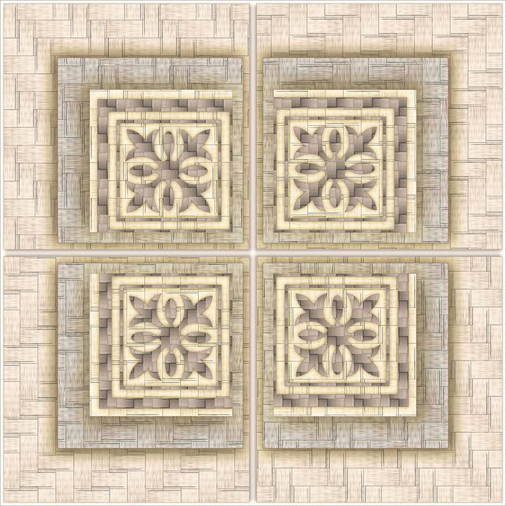 Decorative panel - pattern - an