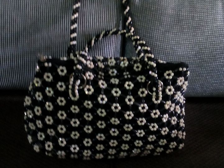 Black and White - Bead Bags