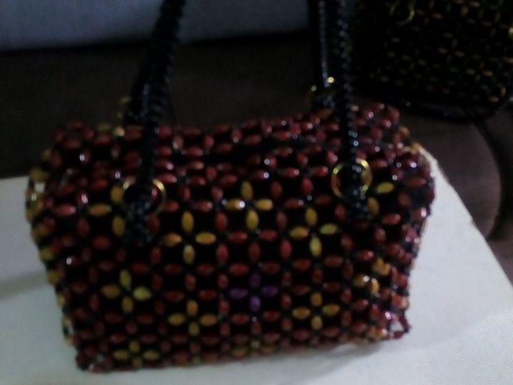 Ladies hand bag - Bead Bags