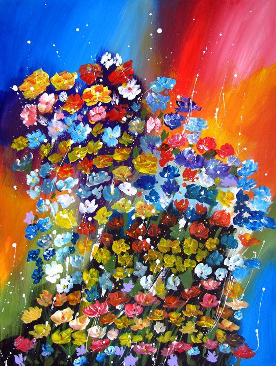 Solar flowers - Artlu