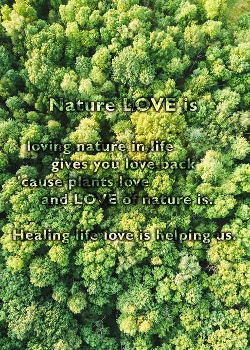 Nature LOVE is - zeitgeist.associates