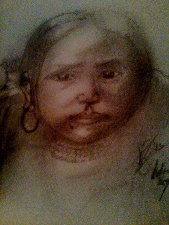 Young Native Girl - Steven Glenn Art