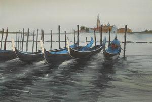 Gondolas await