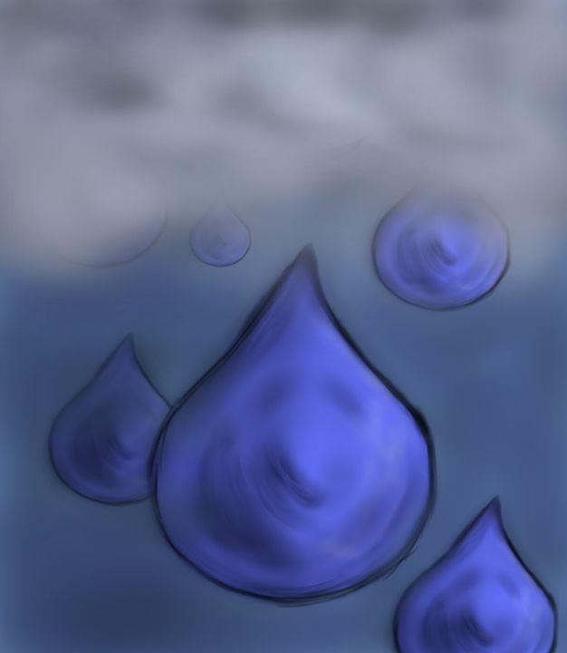 Cloudy Night - My Digital Art