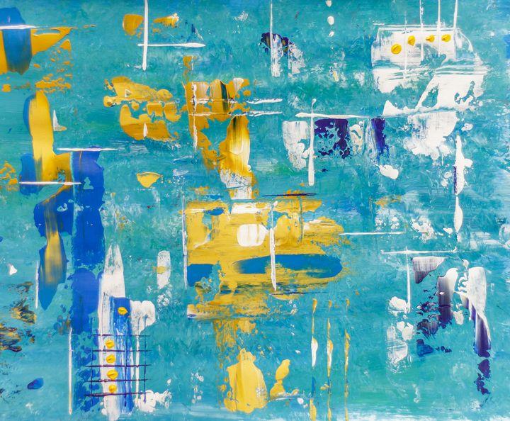 Blue, Gold - Rafael Ayala
