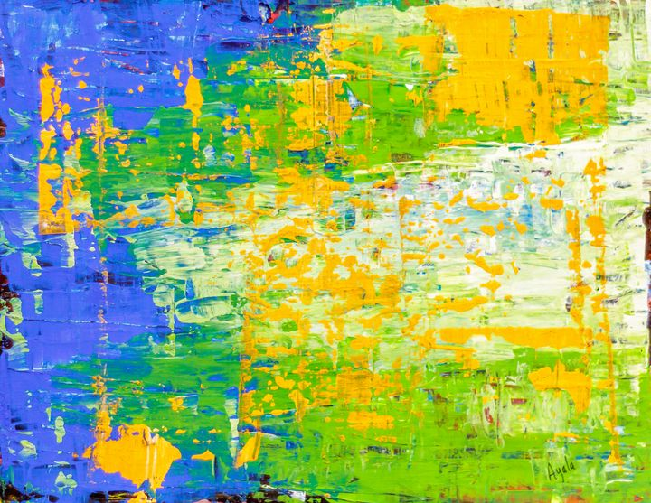 Green, Blue, Orange - Rafael Ayala