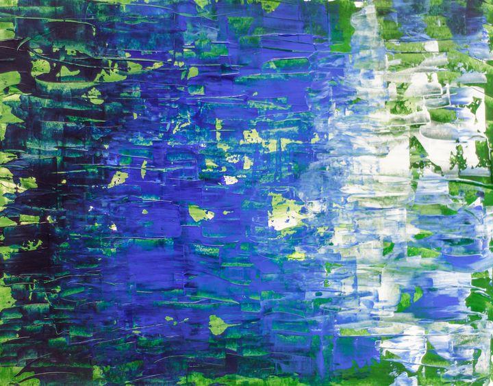 Blue, Green - Rafael Ayala