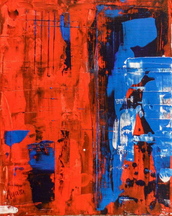 Red, Blue, Black - Rafael Ayala