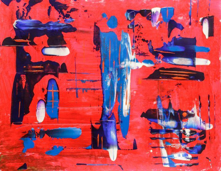 Red, Blue, White - Rafael Ayala