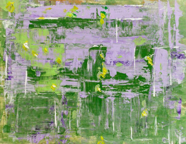 Lavender garden - Rafael Ayala
