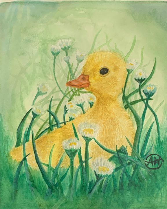 Baby Duckling - Angie Worlton