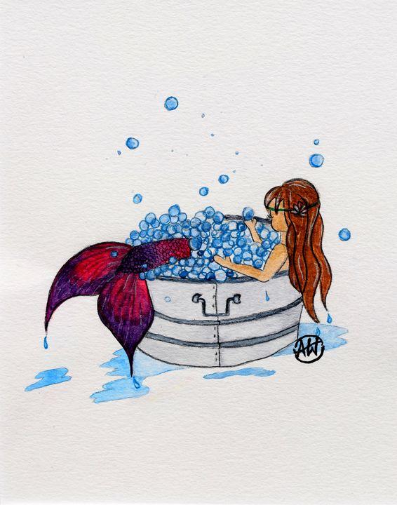 Mermaid - Angie Worlton