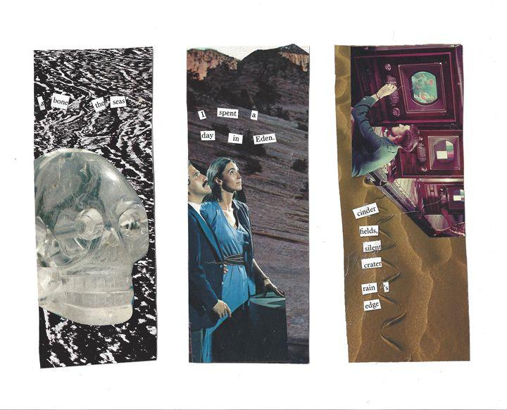 Eden Series Collaged Bookmarks - Natalie Ware
