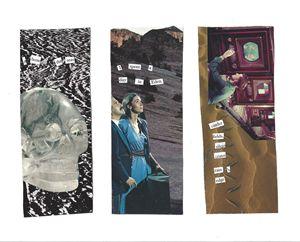 Eden Series Collaged Bookmarks
