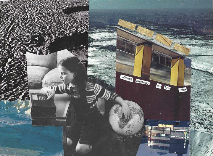 Sanctuary Collage Print - Natalie Ware