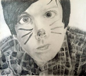 Phil Pencil Portrait