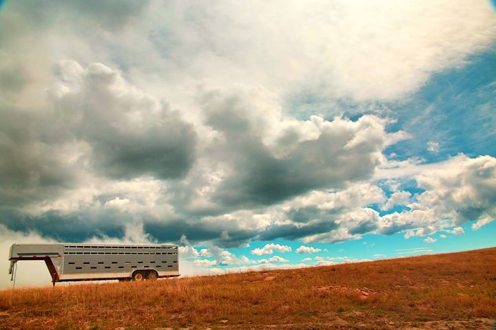 Lonely Trailer - Robert Fein Photography
