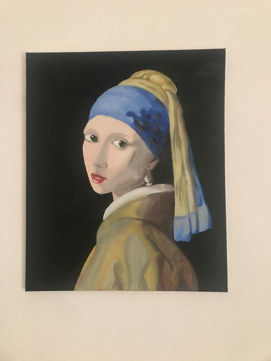 Girl with a Pearl Earring - Art Gallery Tirana