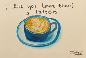 more than a latte
