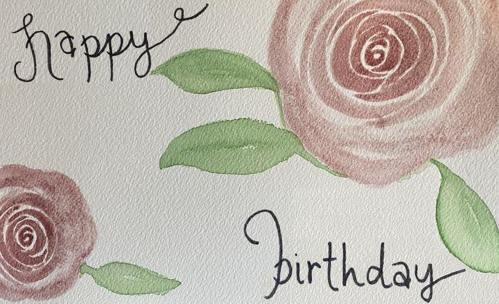 happy birthday roses - stephspiroff