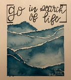 Go Find Your Life prints