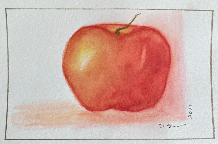 the last apple on the counter - stephspiroff