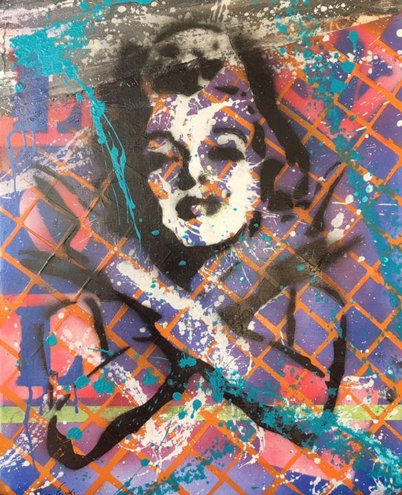 Original reproduction Marylin Monroe - Mura Fowski